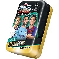 Topps Match Attax - New Mega Tin, 19/20 - 50 Cards, UK Edition
