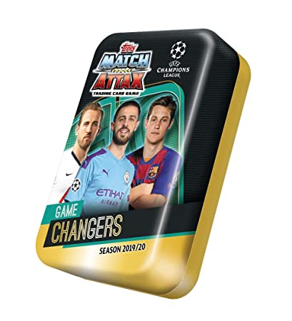 Mega Tin 2020 Card List.Topps Match Attax New Mega Tin 19 20 50 Cards Uk Edition