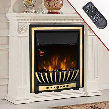 Wickenby 2kw Remote Control Modern Electric Fireplace Led Fire Place