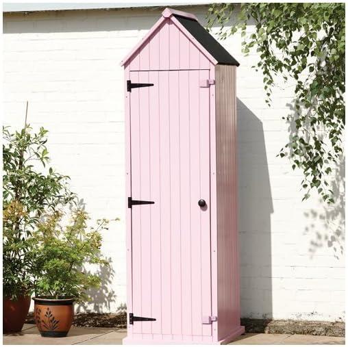 Brighton caseta de jardín en rosa Pastel: Amazon.es: Hogar