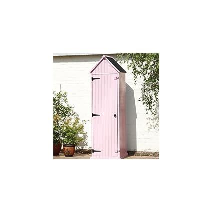 Brighton caseta de jardín en rosa Pastel