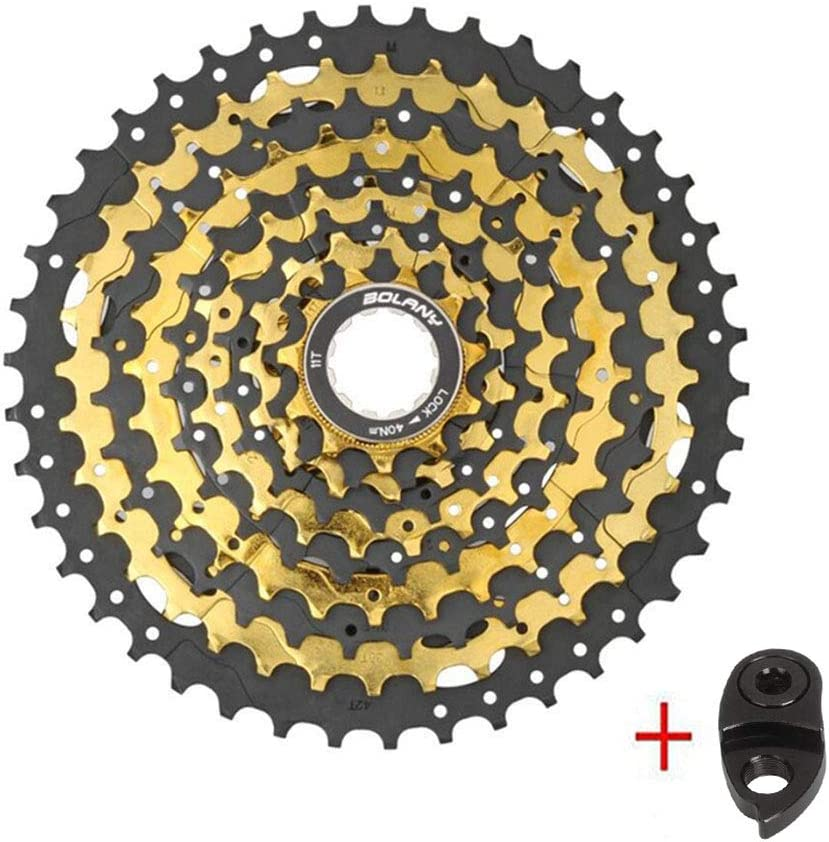 MTB Road Bicycle SRAM Shimano BMX BOLANY MTB 9//10 Speed Cassette 11-42T Cassette Freewheel 9//10 Speed Fit for Mountain Bike