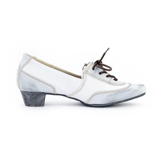 TMA Shoes 1811 - Cerrado de Piel Lisa Mujer: Amazon.es: Zapatos y complementos