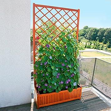 Ambiance pötschke treillis guernsey brise-vue pour balcon avec ...