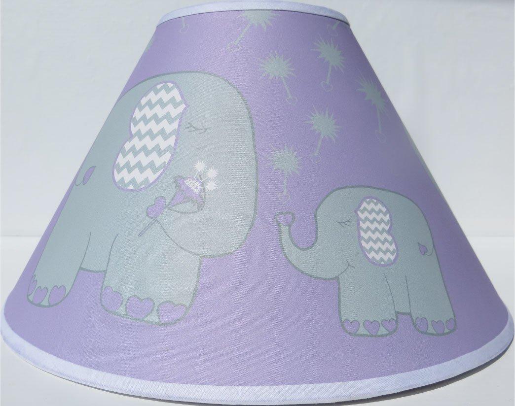 Amazon.com: Púrpura Elefante lámpara de techo, diseño con ...