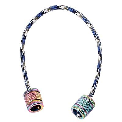 Begleri Beads-MOMU-Aluminum Alloy Begleri Fidget Toy Worry Beads Finger Skill Paracord Stress Toys: Kitchen & Dining