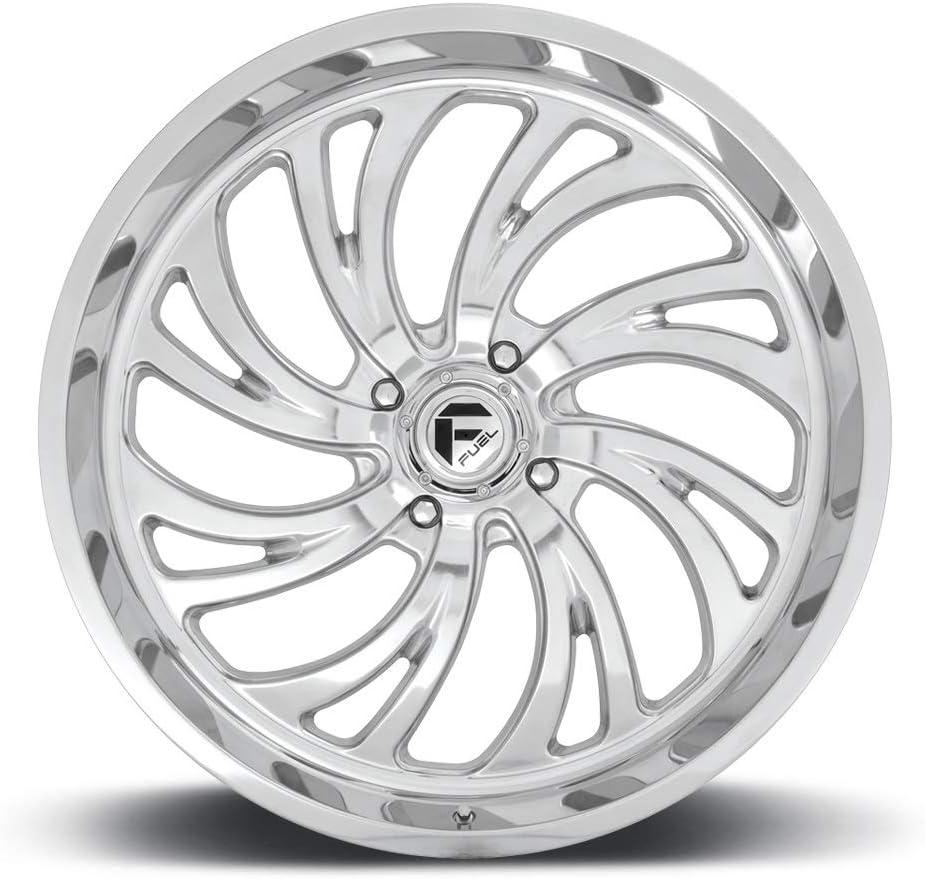 Polished 4+3 D2032270A644 4//137 Fuel Kompressor 22x7 ATV//UTV Wheel