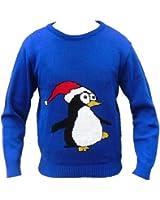London Knitwear Gallery Christmas Novelty Retro Penguin Santa Snowman Jumper