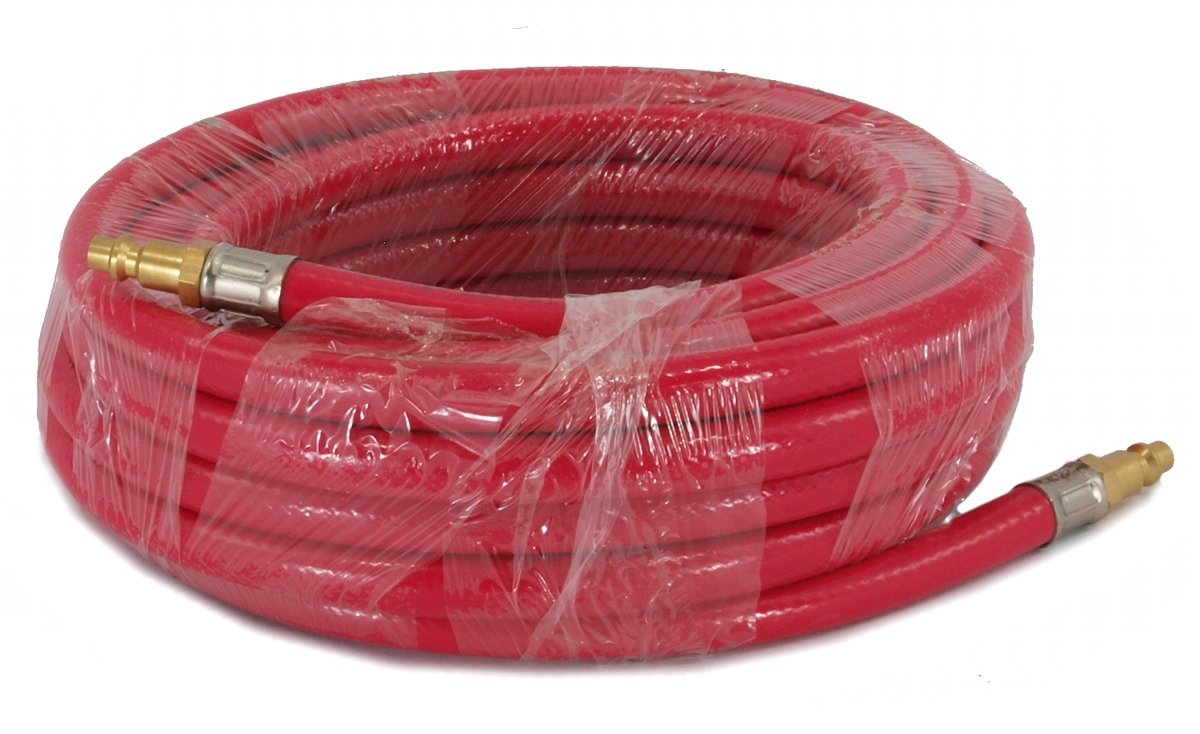 AIR COMPRESSOR HOSES 25' feet - BRASS NEW TOOLS NEW! by EDMBG