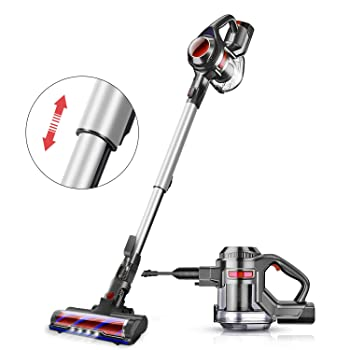 MOOSOO Stick Lightweight Vacuum Cleaner