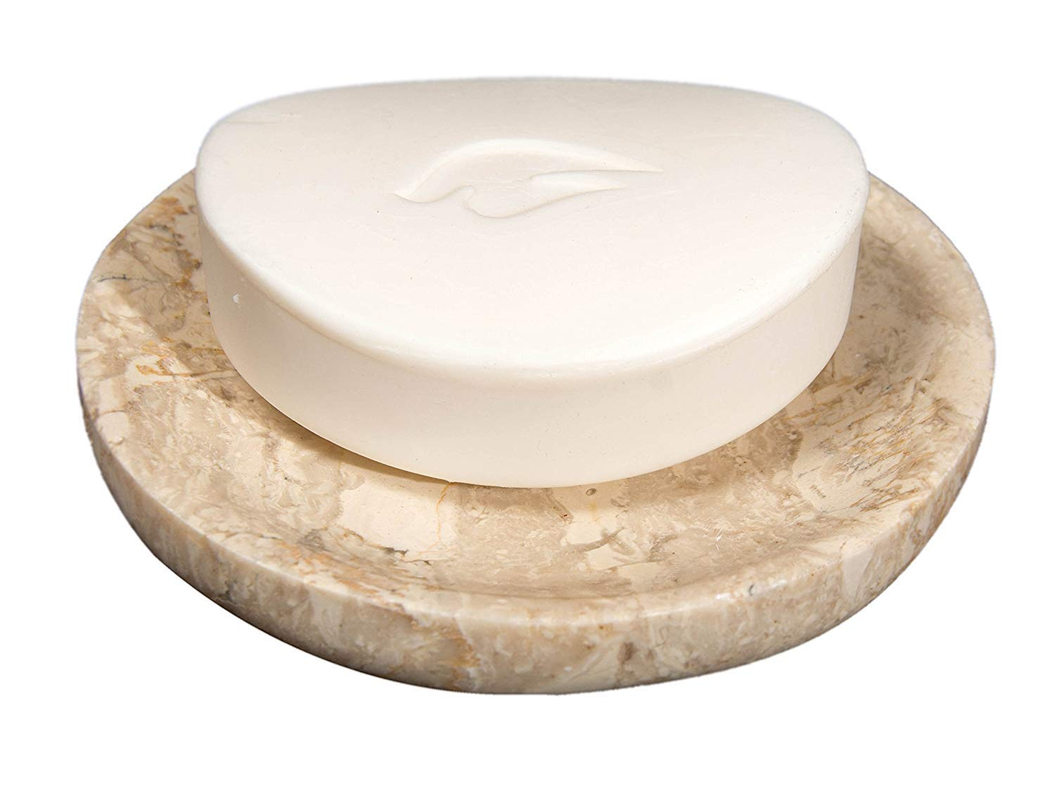 Beautifully Crafted Bathroom Accessory Polished and Shiny Marble Dish Holder Black TUZECH Beige Marble Soap Dish