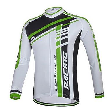 Amazon.com  TOPTIE Biking Cycling Jersey Men s Long-Sleeve  Clothing cd36a54d2