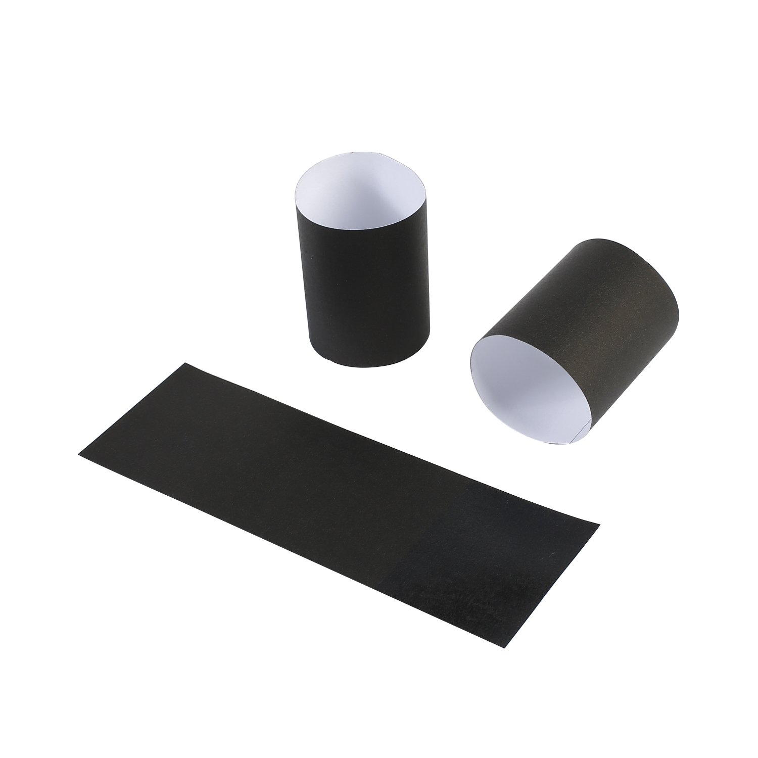 Gmark Paper Napkin Band Box of 2500 (Black), Paper Napkin Rings self Adhesive GM1049