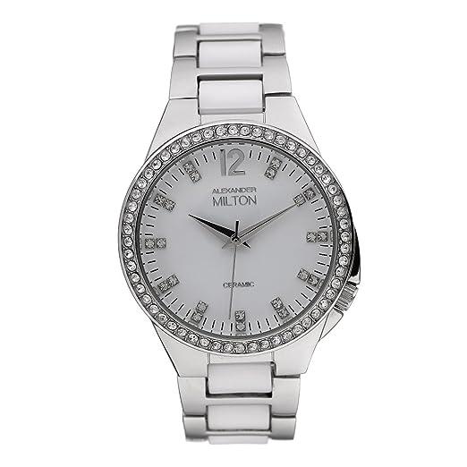 Alexander Milton - Reloj Mujer - Xenia, color blanco ...