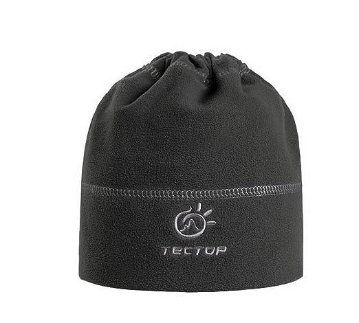 76af5d77f47 Amazon.com  PANDA SUPERSTORE Men s Fleece Beanie Grey Watch Cap Beanie  Winter Hat  Sports   Outdoors