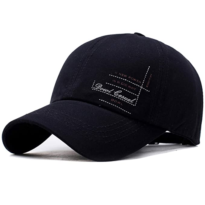 937fdcbab00 Baseball Cap Mens Hat Spring Custom Hats Chance The Rapper Cowboy Man Black  Luxury 2019 Luxury at Amazon Men s Clothing store