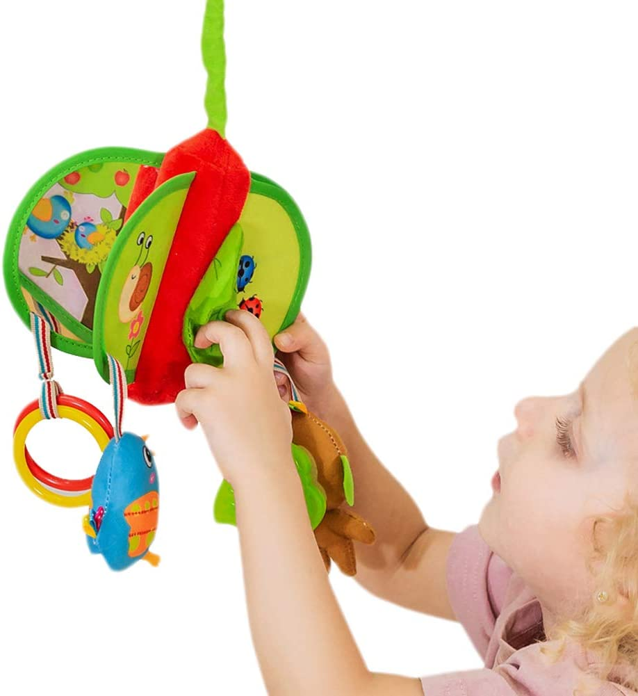 SKK BABY Musical Pram Bar Activity Toy For Infant Toddlers Blue