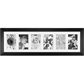 amazon com malden 4x6 6 opening collage matted picture frame