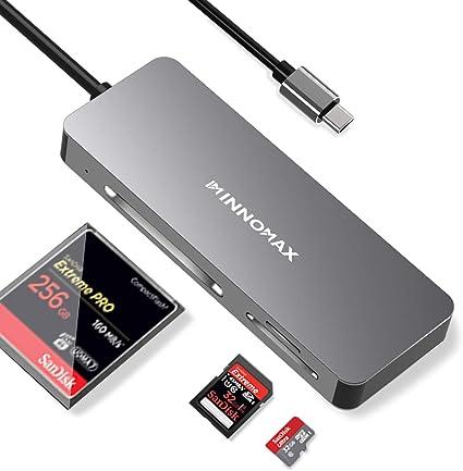 Macbook Thunderbolt 3 Type C to USB 3.0 2.0 Hub SD//TF Card Reader Converter SG