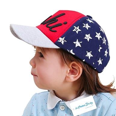 b06861592 LifenewBaby Kids Cotton Baseball Cap Baby Boys/Girls Sun Cap Summer ...