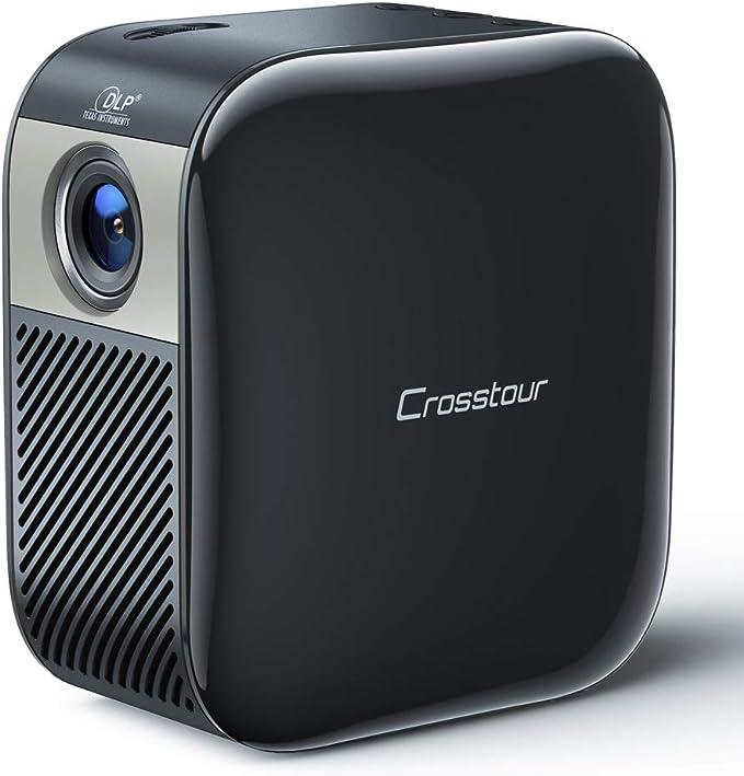 Mini Proyector Portátil,Crosstour DLP Pico Proyector Soporte Full ...