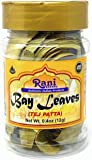 Rani Bay Leaf (Leaves) Whole Spice Hand Selected Extra Large 12g (0.4oz) PET Jar, All Natural ~ Gluten Free Ingredients…