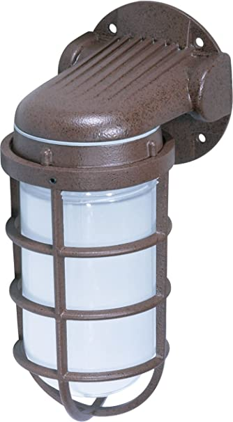 old style lighting. nuvo lighting sf76621 industrial style small heavy duty aluminum durable outdoor wall mount porch old n