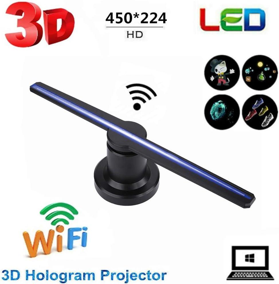 Tosuny Proyector holográfico 3D, WiFi portátil Holograma 3D LED ...