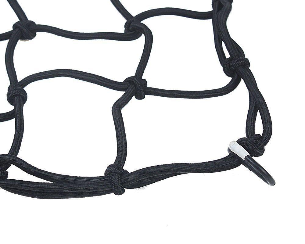 per serbatoio Doyime 1 Pc Rete portapacchi per moto e bici elastica con 8 ganci