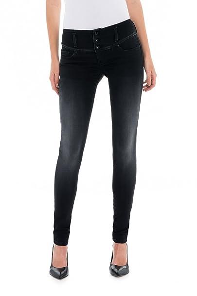 SALSA Pantalones en denim ligero Push Up Mystery Skinny ...
