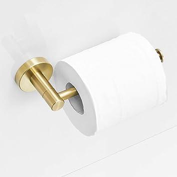 Porta accappatoio portasciugamani per cucina//bagno Set di accessori 3 pezzi in oro spazzolato oro acciaio inossidabile SUS304 stile moderno Leekayer,LK1880BG-3PCS02 portarotolo
