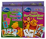 Set of 2 Winnie the Pooh Card Decks, Number Match and Go-together Game