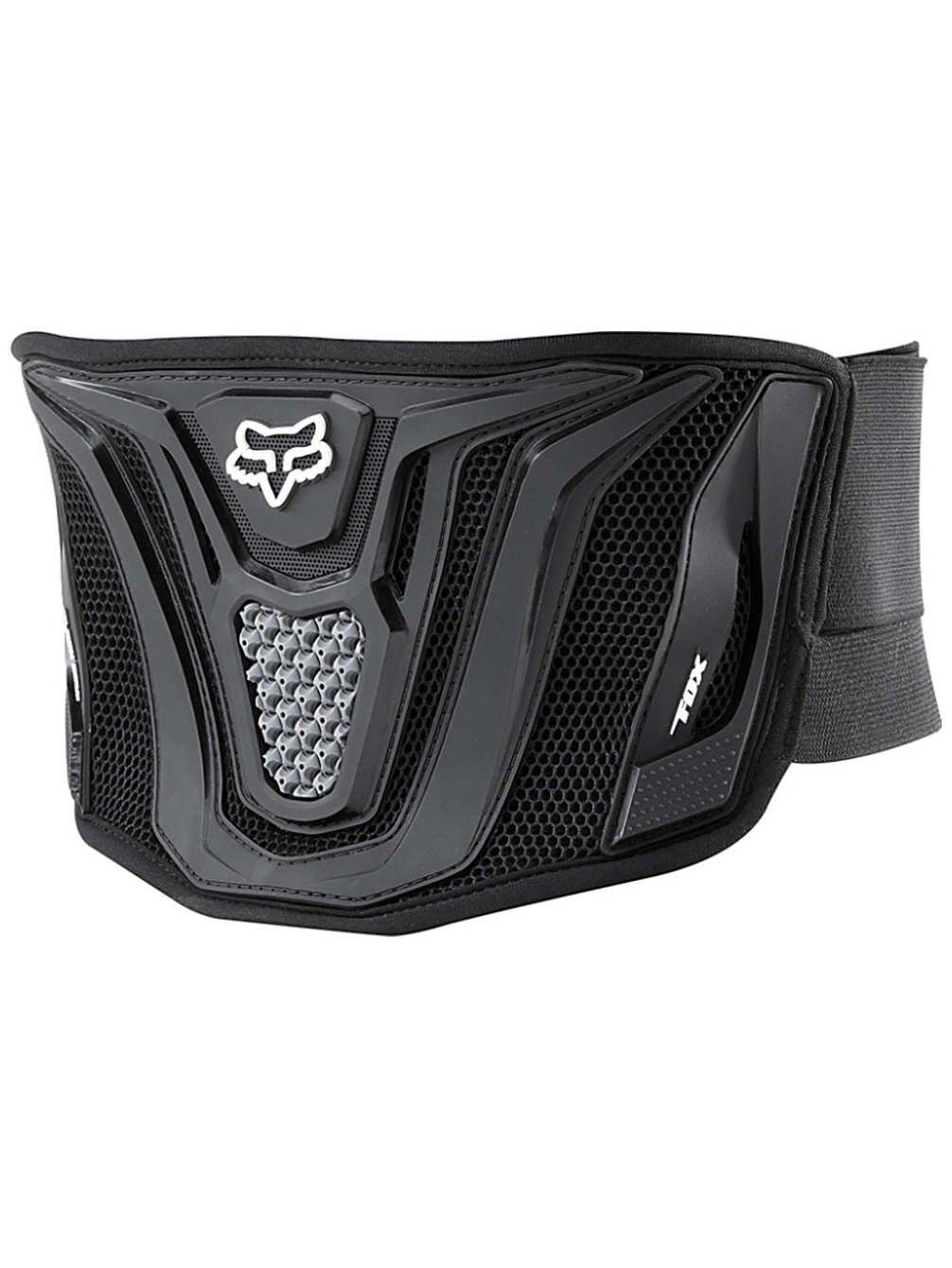 FOX Racing 07036 MX Black Belt Black Grey OSFM