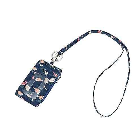 c49d9efcb6c9 Amazon.com : Lam Gallery Fashion Badge Holder Lanyard with Zip ID ...