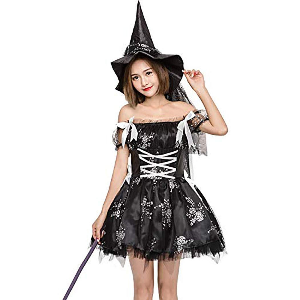feea26af0 Amazon.com: Zooka Gothic Sexy Costume Halloween Dress Costume Sexy Witch Vampire  Costume Women Masquerade Party Halloween Cosplay Costume: Clothing