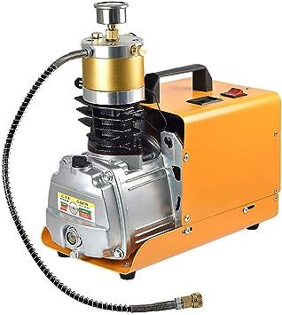 Mengs 300bar 30mpa 4500psi Hochdruck Druckluftpumpe Elektrische Kompressor Pcp Luftpumpe Für Druckluftpistole Pcp Luftpumpe Geeignet Normale Pkw Fahrräder Und Fahrradreifen Baumarkt