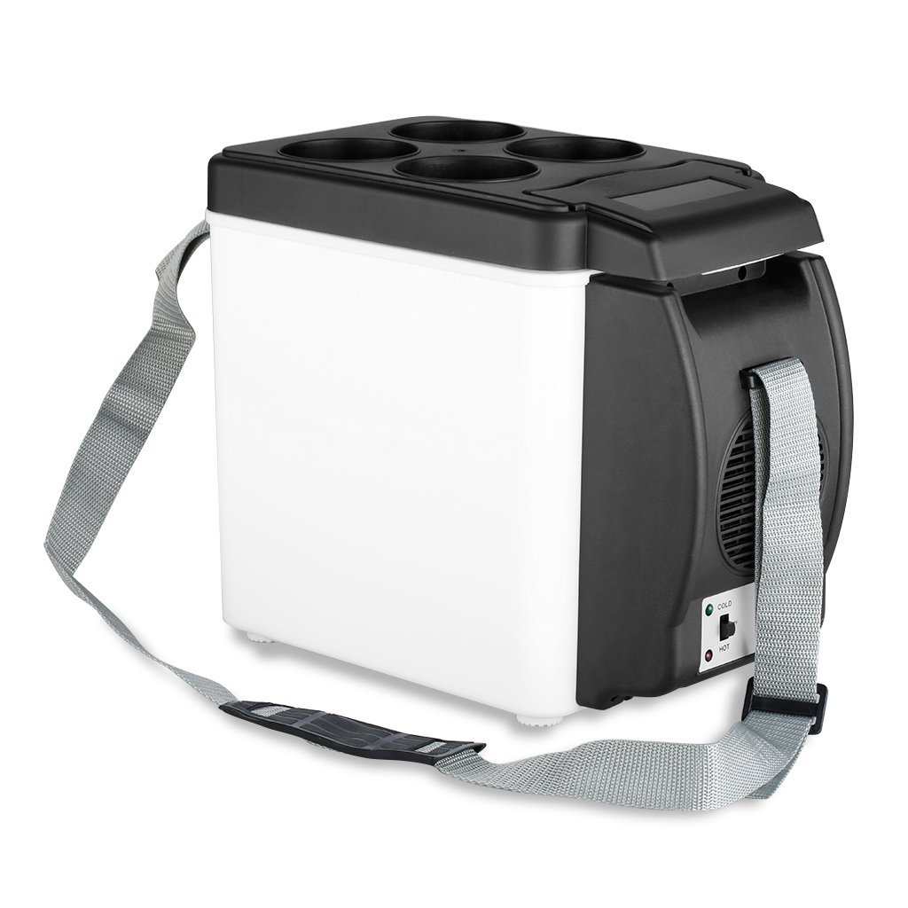 Amazon.es: 2 en 1 Mini Nevera Electrica Portatil Calentador 6L 12V ...