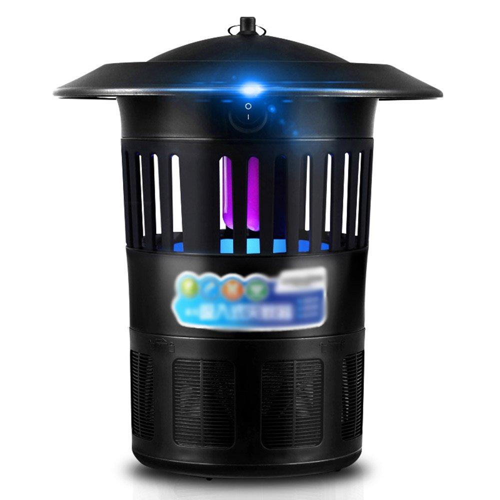 蚊よけランプ 昆虫キラー電子LED蚊キャッチャーUSB光触媒UV蚊のトラップキラー屋内オフィスのための真空ファン付き蚊ランプ 防虫灯 B07Q2424NY
