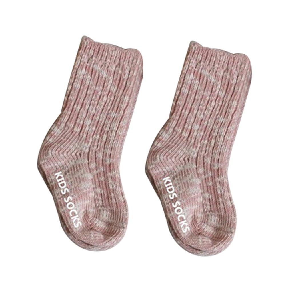 Tangbasi/® spessi ed elastici rosa rosa 0-2Years Old Calzini per neonati e bambini