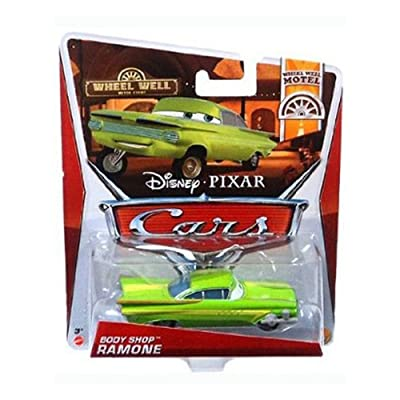 Cars Wheel Well Motel Body Shop Ramone Die Cast Vehicle: Toys & Games