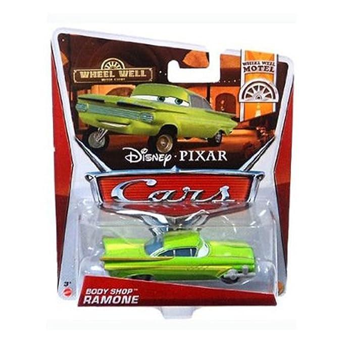 DISNEY-PIXARS CARS WHEEL WELL MOTEL BODY SHOP RAMONE