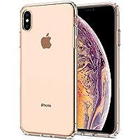 Spigen Liquid Crystal Serisi Kılıf iPhone XS Max ile Uyumlu / 4 Tarafı Tam Koruma - Crystal Clear
