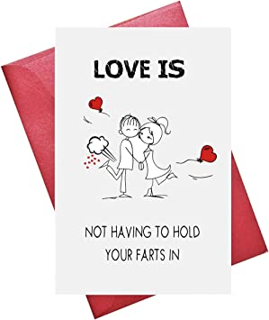 Love Card Valentine/'s Day Card Greetings Card Anniversary Card