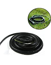 Halloween Realistic Soft Rubber Toy Fake Snakes Garden Props Joke Prank Gift