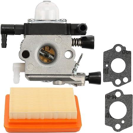 Carburetor Fuel Filter Fuel line Primer Bulb For Stihl MM55 MM55C Trimmer Parts