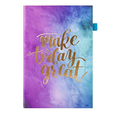 Amazon.com : A5/A6 Daily Planner Notebook 2019 Agenda ...