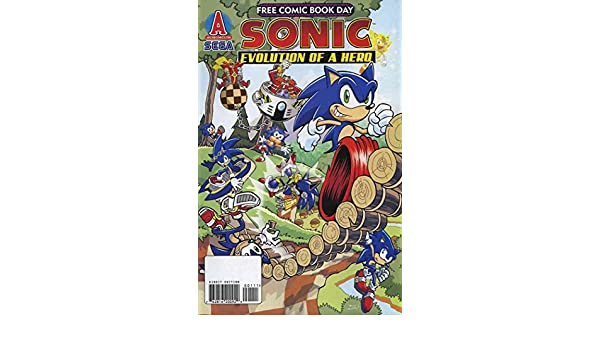 Amazon.com: Sonic the Hedgehog FCBD #2009 VF ; Archie comic ...