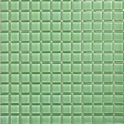Verre mosaïque vert clair salle de bain wc piscine Cuisine ...