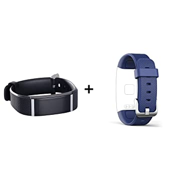 Reloj Inteligente Smartband cuantificadora - Sensor de ritmo cardíaco - Resistente al agua IP67 - Bluetooth