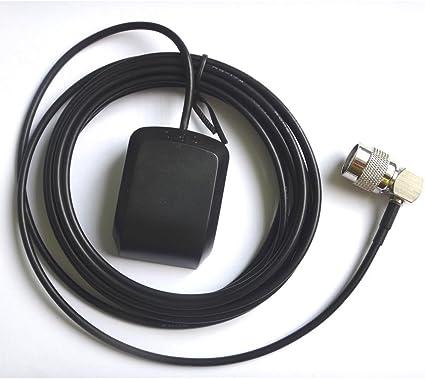 AMSAMOTION PARA TNC Antena GPS para transpondedor Sannav RV ...